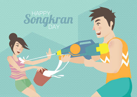 happy songkran day