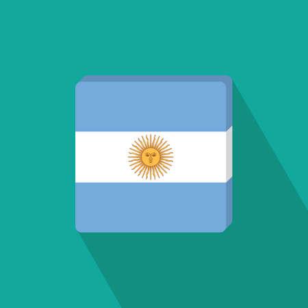 national identity: argentina flag