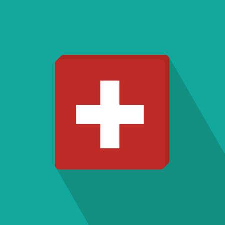 national identity: switzerland flag
