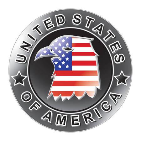 eagle badge: us eagle badge