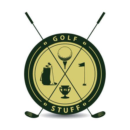stuff: golf stuff label