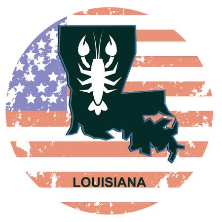 louisiana state: louisiana state Illustration