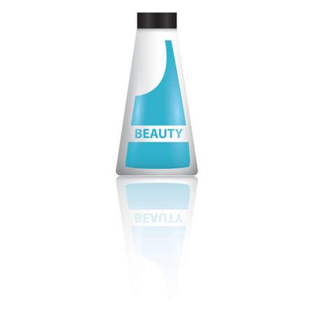 beauty product: beauty product bottle