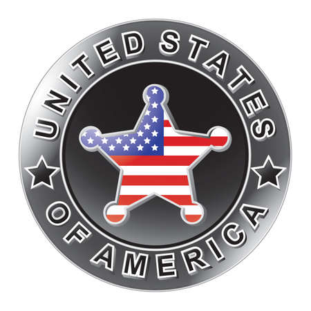 enforcement: sheriff star badge