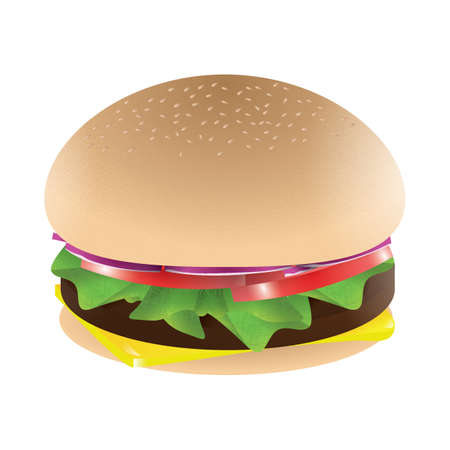 refreshments: hamburger