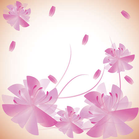 scented: floral background