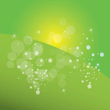 scented: abstract green background Illustration
