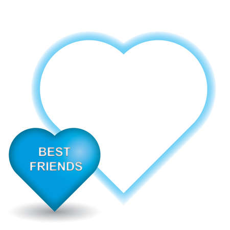 the best: best friends Illustration