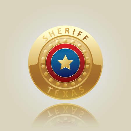 sheriff: sheriff texas badge