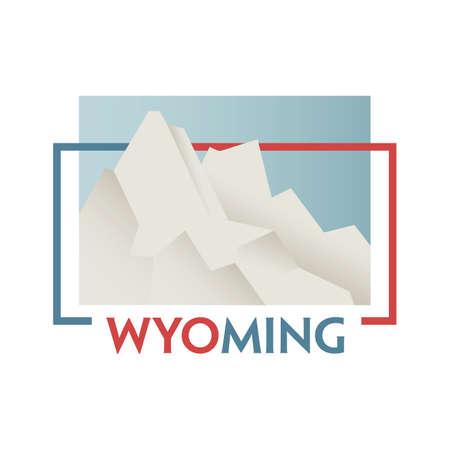 faithful: wyoming state map
