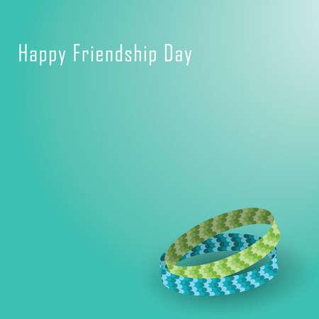 friendship day: happy friendship day wallpaper Illustration