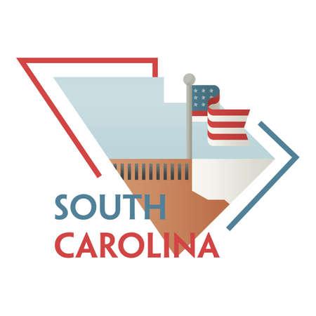 carolina: south carolina state map