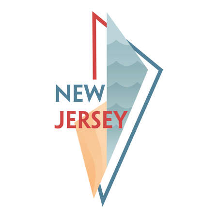 jersey: new jersey state map