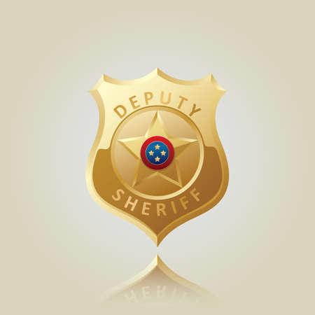cops: deputy sheriff shield