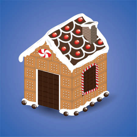 casita de dulces: casa del caramelo