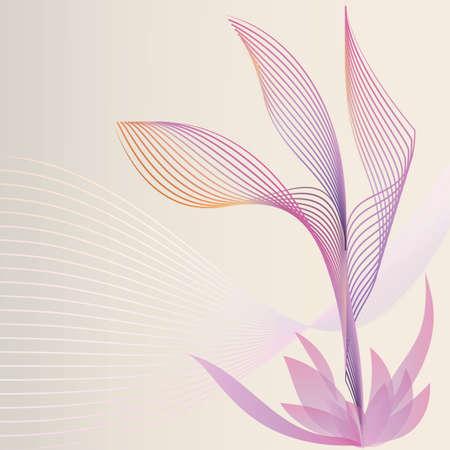 floral background Vektorové ilustrace