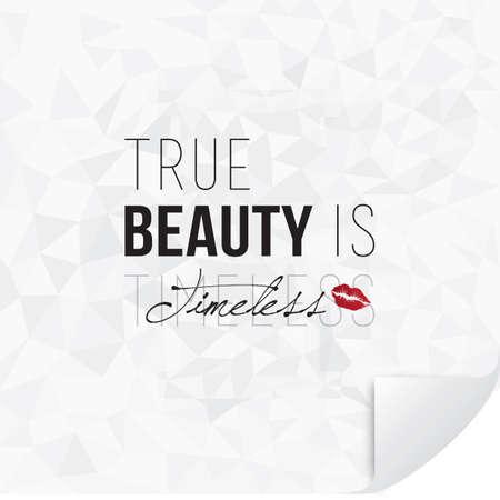 timeless: true beauty is timeless