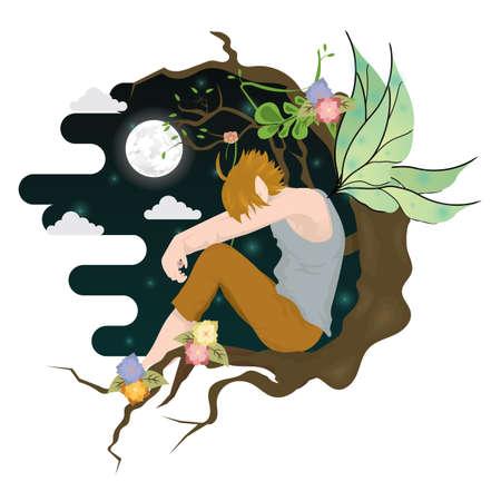 moon angels: fairy boy