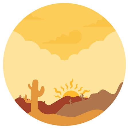 desert landscape: scenic desert landscape