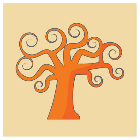 kahlen Baum Vektorgrafik