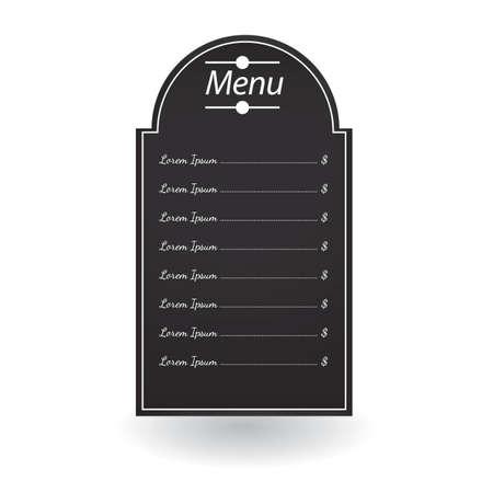 menu board: menu board
