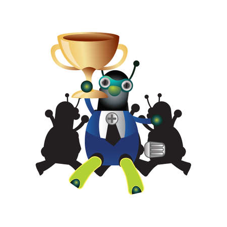won: doctor ant won trophy