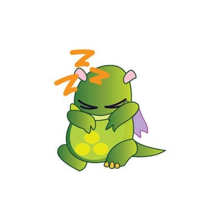 zzz: dragon sleeping