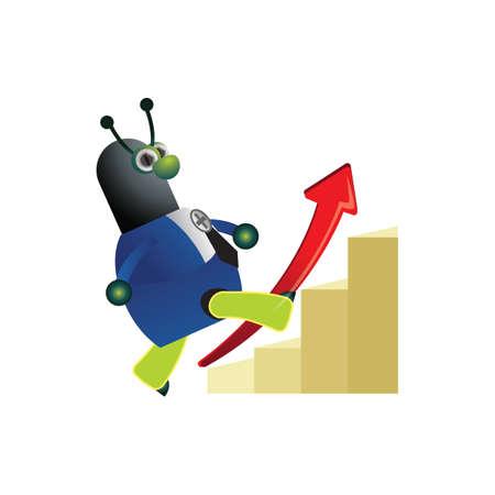 bar graph: doctor ant on bar graph