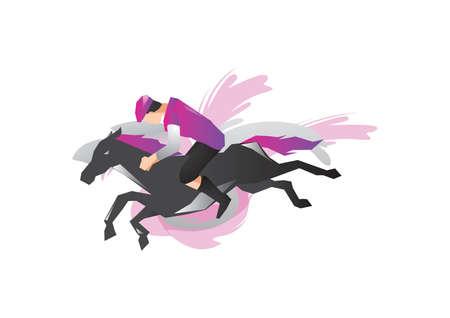 rider: horse rider