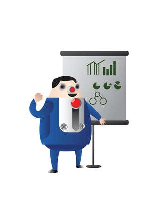 graficas de pastel: grasa de negocios de intercambio de gráficos y diagramas de sectores Vectores