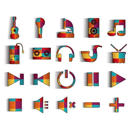 musique icônes