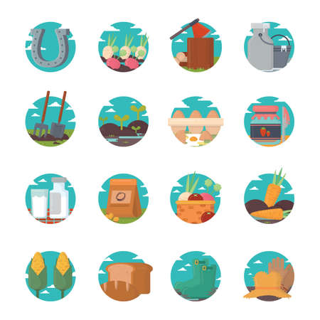 log basket: agriculture icon
