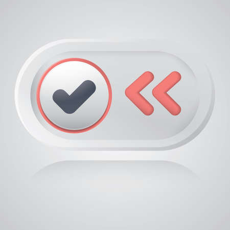 back button: select and back button