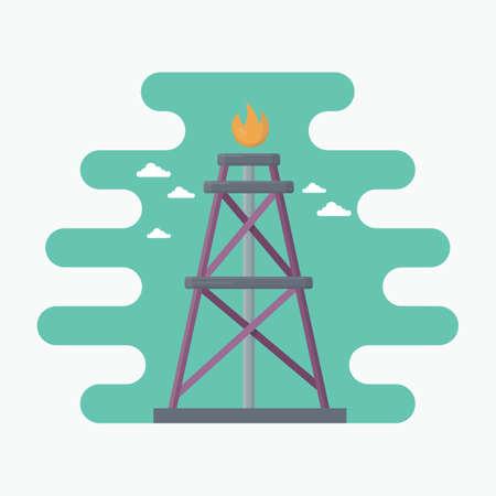 rig: oil gas rig