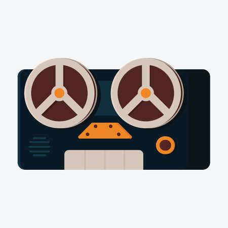 grabadora: Grabadora de audio Vectores
