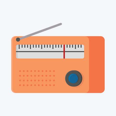 receiver: radio receiver Illustration