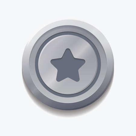 favorite: favorite web button Illustration