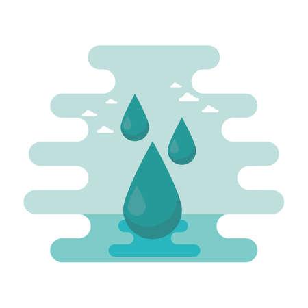 oil drops: oil drops Illustration