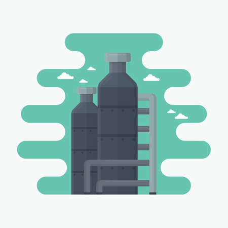 processing: processing plants Illustration