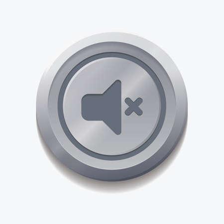 mute volume web button
