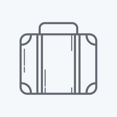 sightseeings: suitcase