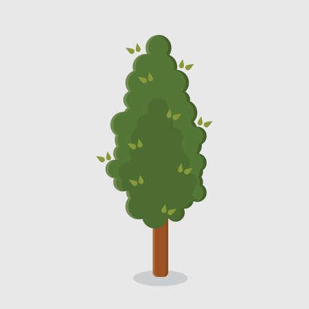 greenery: tree