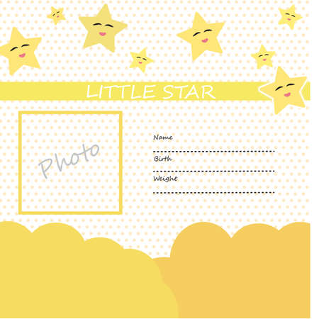 stars and polka dot template royalty free cliparts vectors and