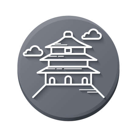 temple of heaven: temple of heaven Illustration