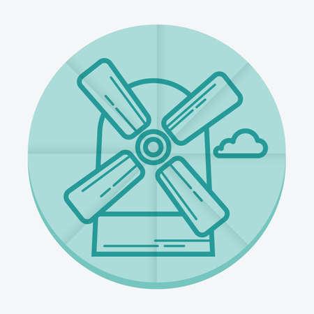 windmill: dutch windmill