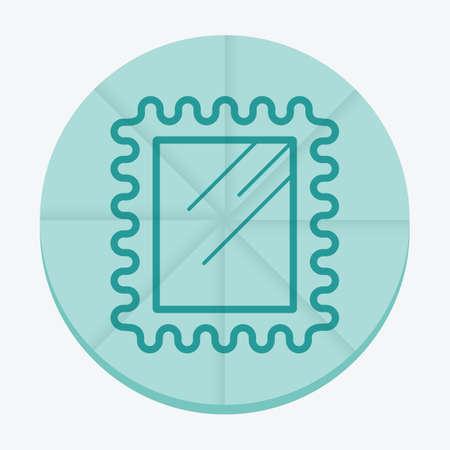post stamp: post stamp Illustration