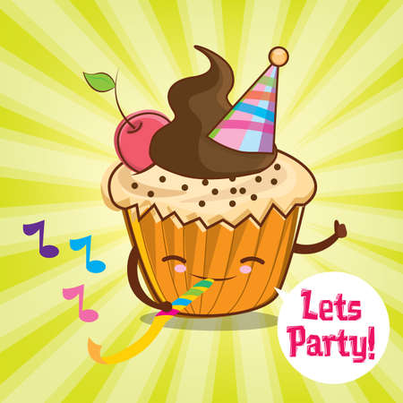 lets party: lets party card