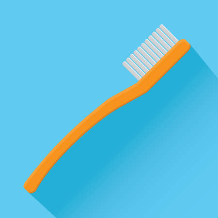 toiletries: toothbrush Illustration