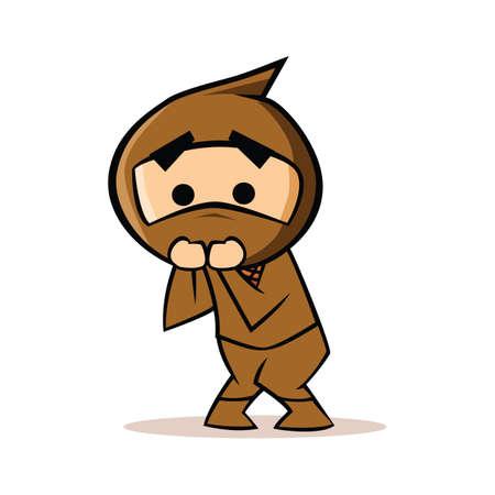 afraid: afraid ninja