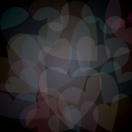 hearts background Stock Vector - 52730629